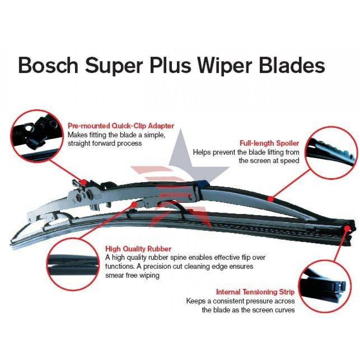Afholte Щетка стеклоочистителя Bosch Aerotwin Multi-Clip 550 мм. Side pin ED-97