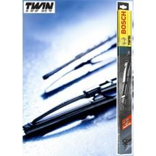 Дворники Bosch twin 2 шт. в упаковке 600/530 мм. Крючок