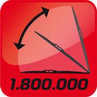 Более 1,8 млн. взмахов - эффективной работы