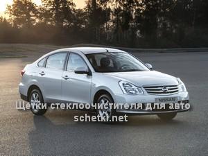 Nissan ALMERA G15RA стеклоочистители в Москве