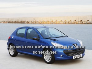 Peugeot 206  стеклоочистители в Москве