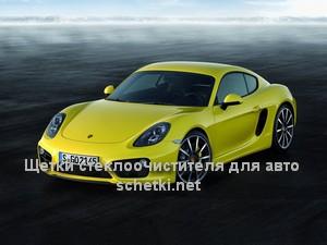Porsche CAYMAN стеклоочистители в Москве