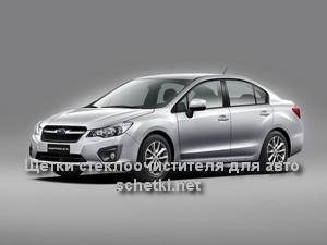 Subaru IMPREZA  стеклоочистители в москве