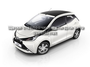 Toyota AYGO II стеклоочистители в Москве