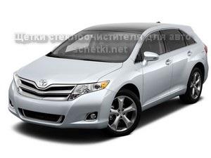Дворники для Toyota VENZA купить на сайте schetki.net