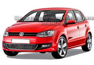 Автощетки для Volkswagen POLO с 2009 хетчбек купить на сайте schetki.net