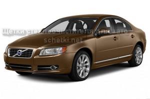 Автощетки на Volvo S80 заказать на сайте schetki.net