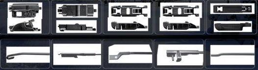 типы адаптероы в комплекте с дворниками трико айс trico ice